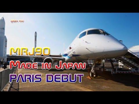 MRJ90, Japan Homemade Aircraft Debut at Paris Air Show