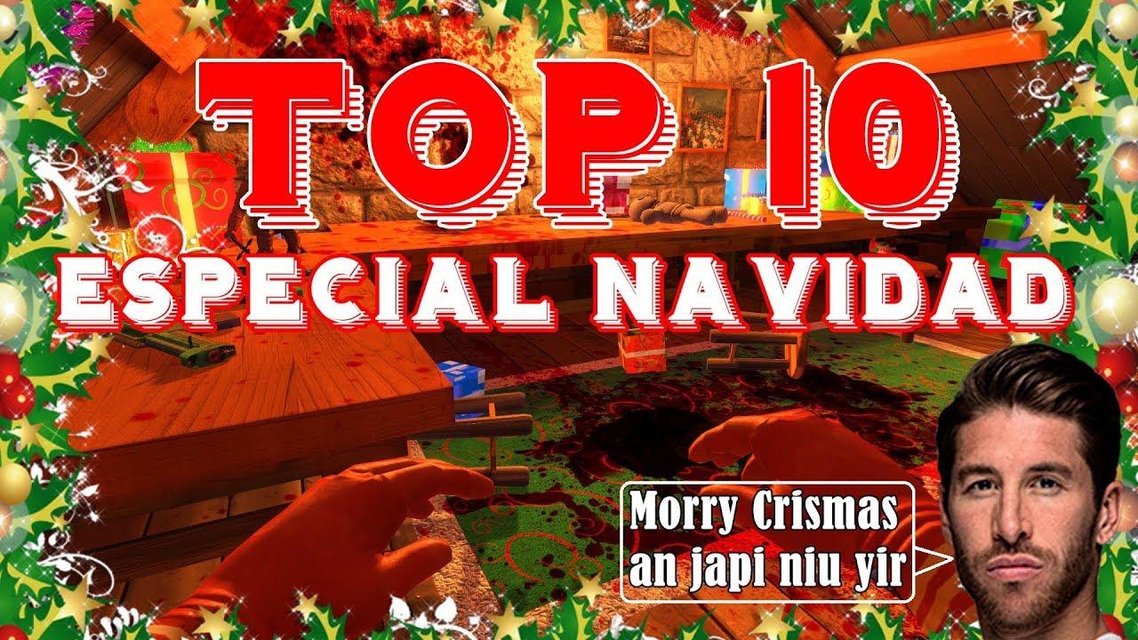 Los 10 Mejores Juegos Navidenos Especial Navidad Youtube