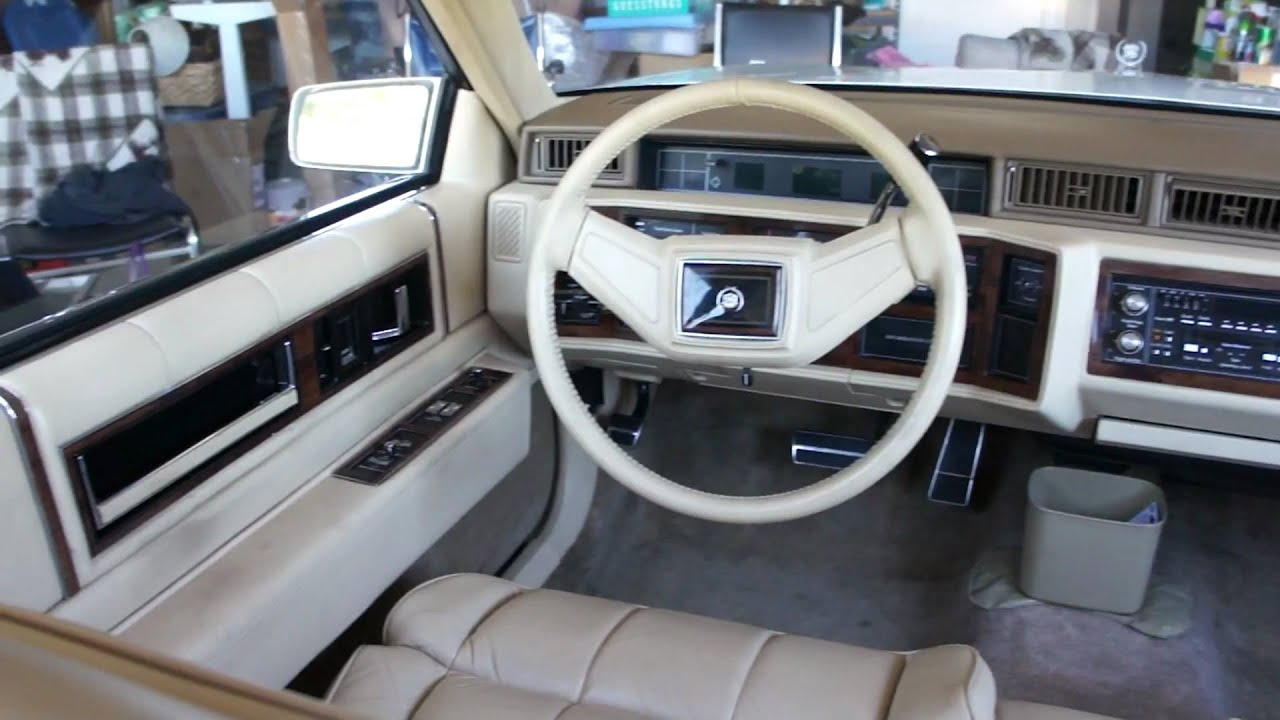 Download 1986 Cadillac Eldorado Interior