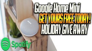 HOW TO GET FREE GOOGLE HOME MINI FROM SPOTIFY | GET YOURS TODAY FOLLOW VIDEO STEP BY STEP