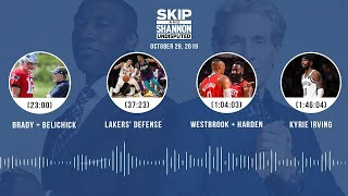 UNDISPUTED Audio Podcast (10.29.19) with Skip Bayless, Shannon Sharpe & Jenny Taft | UNDISPUTED