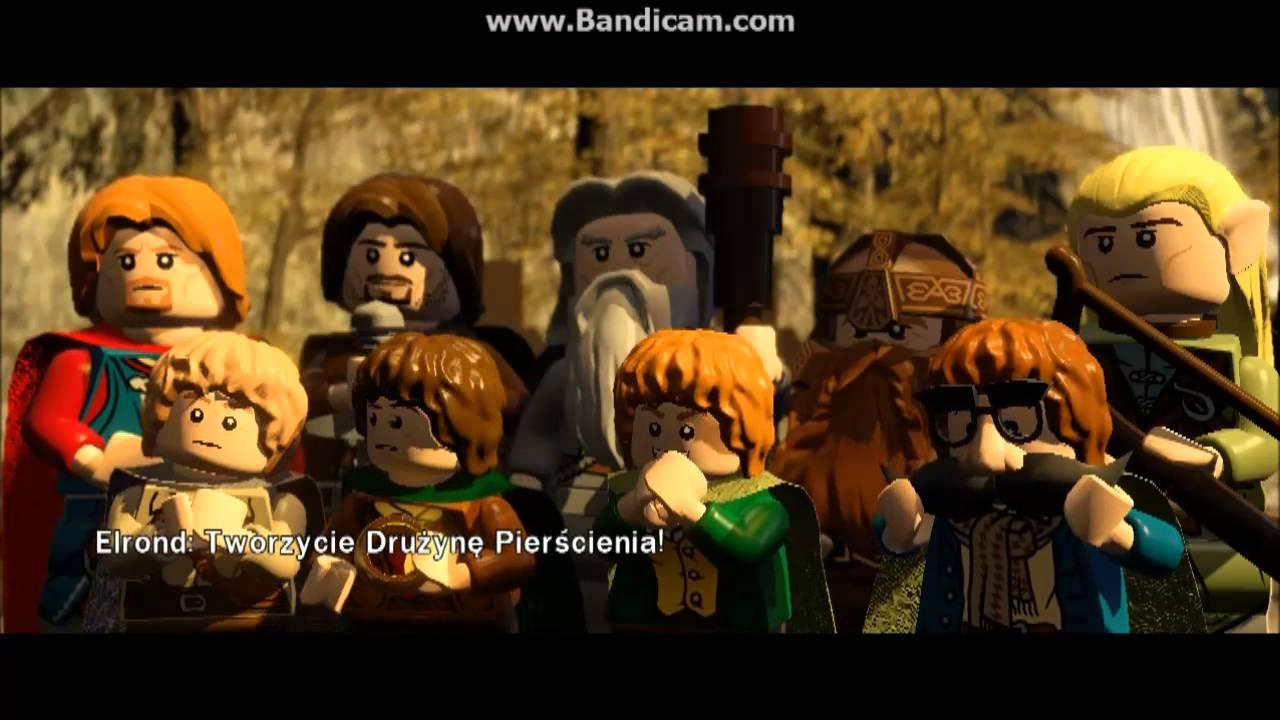 Lego Władca Pierścieni Drużyna Pierścienia Youtube