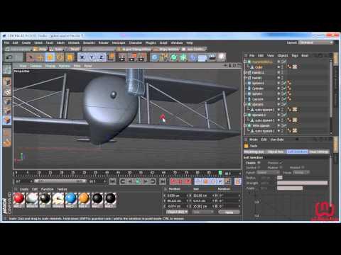 cinema 4d plane project workshop