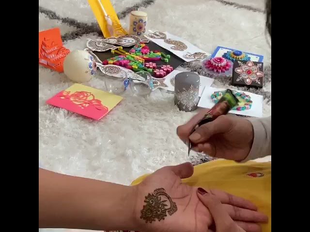 Equal Time: What Can @Sree_Henna Do Make in 5 Minutes?
