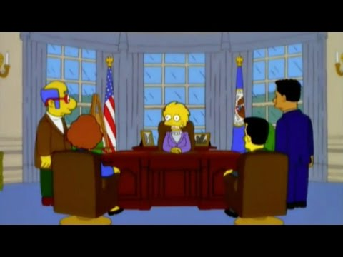 The Simpsons Predicted Donald Trump's Presidential Win 16 Years Ago