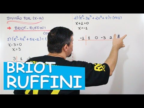 Briot Ruffini Divisao De Polinomios 6 12 Youtube