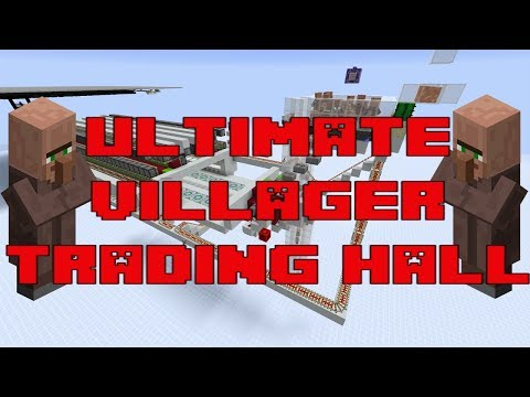 ULTIMATE VILLAGER TRADING HALL TUTORIAL - MINECRAFT HERMITCRAFT SERVER