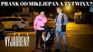 MIKEJEPAN  & TVTWIXX MI UKRADLI SKŮTR! - VYJÁDŘENÍ | #freescoot