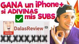 SORTEO DE iPHONE X ❤️SÓLO POR ADIVINAR MIS SUSCRIPTORES❤️ y Suscribirte! thumbnail