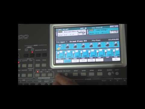 Criar Ritmo a partir de uma mid(SMF) Korg PA900-Part 1