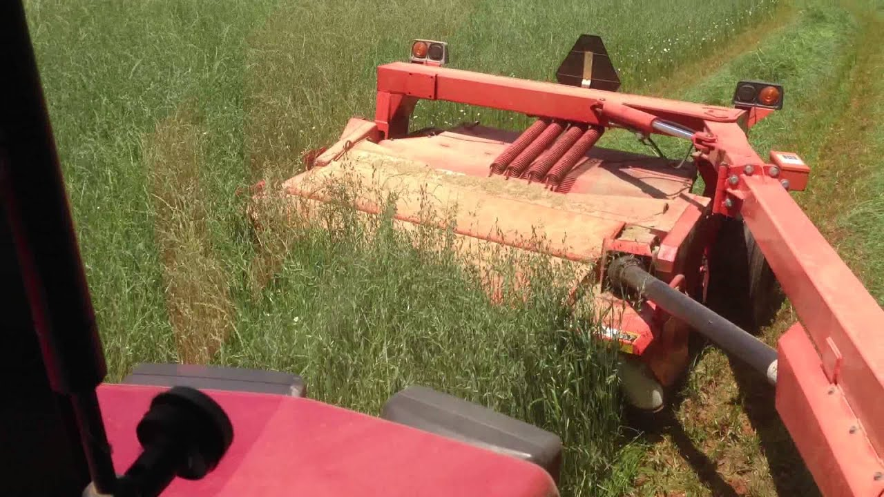 My wife picked up a Kuhn Disc Mower Conditioner  Pics inside