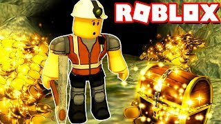 I'm a GOLD SEARCHER!!! ROBLOX GOLD ADVENTURE