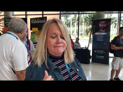 Customer Testimonial at WordCamp Miami 2019
