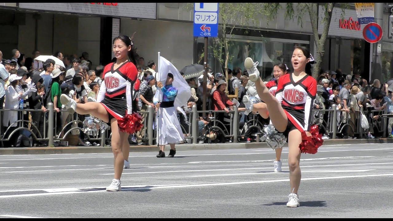⑦武蔵野中学高等学校マーチングバンド部 第十三回銀座柳まつりゴールデンパレード