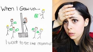 FUNNIEST most inappropriate KIDS DRAWINGS!!
