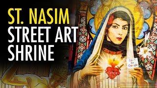 "Martina Markota: ""Saint Nasim"" Posters Appear Outside YouTube HQ"