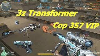 [ Bình Luận CF ] 3Z Transformer-Iron Beast và COP 357 VIP - Tiền Zombie v4