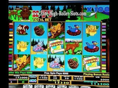 $34,500,132 44 Jackpot! $34 Million Dollar Casino Handpay! Betti the Yetti $100 Slot Machine IGT