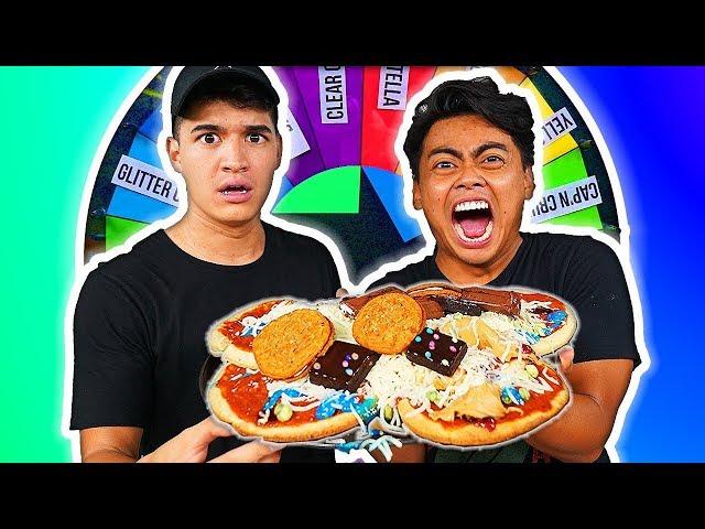 Mystery Wheel of Pizza (ft. Alex Wassabi)