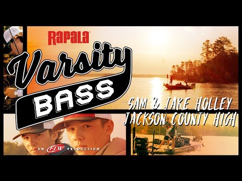 Rapala Varsity Bass Episode 4: Sam & Jake Holley // Jackson County High on Lake Lanier
