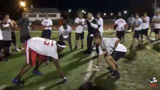 2015 NE Showcase: Justin Ames (T/DT) of Ellington HS