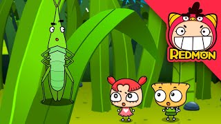 Insect world #15 - Find the memo and return home [REDMON] | Bug story | Bug cartoon