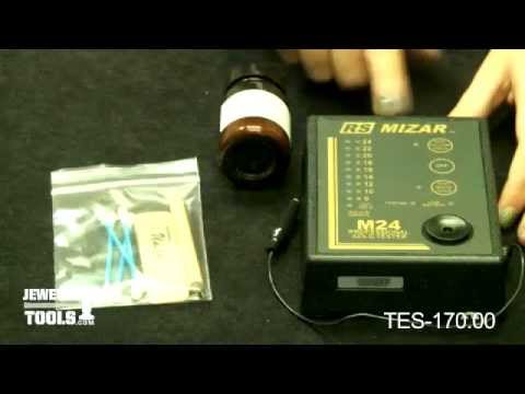 TES-170.00 - RS Mizar M-24 Gold Tester - Jewelry Making Tools Demo