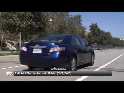 2010 Toyota Camry Hybrid Used Car Report