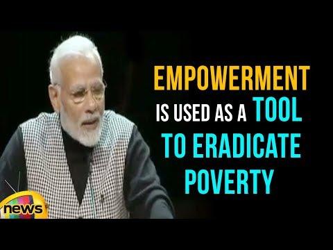 Modi Says Empowerment Is Used As A Tool To Eradicate Poverty   Mango News