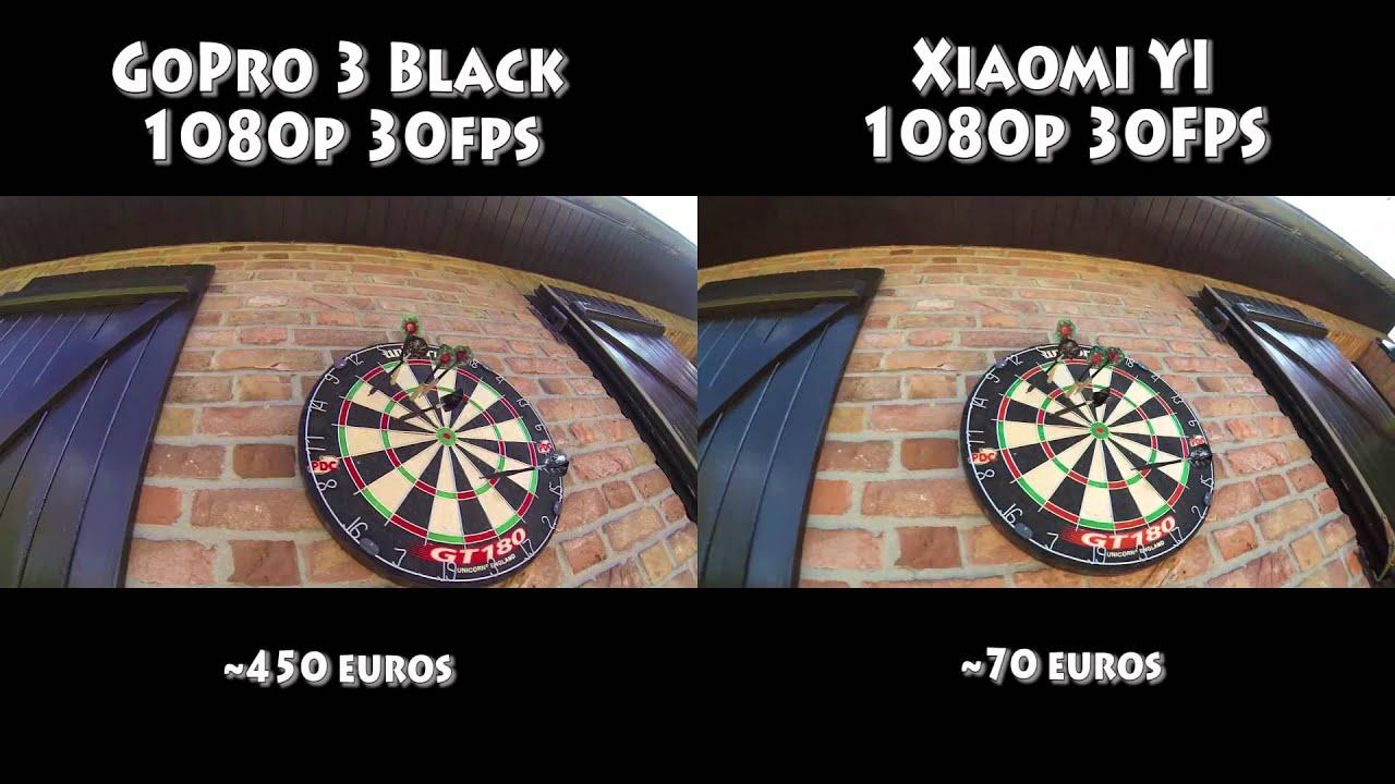 Test Xiaomi YI VS GoPro 3 Black