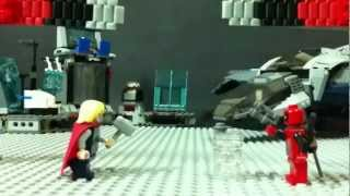 Hulk Smash Hits using LEGO Super Heroes Movie Maker.
