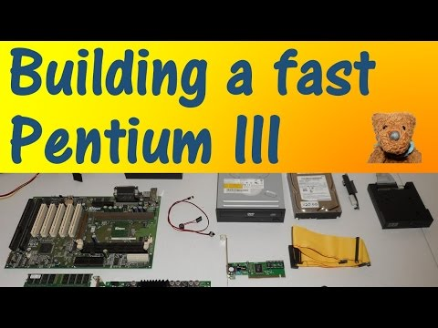 Building fast Slot 1 Pentium III Retro Gaming PC