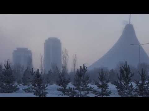 It is very cold (-40°C) in Astana