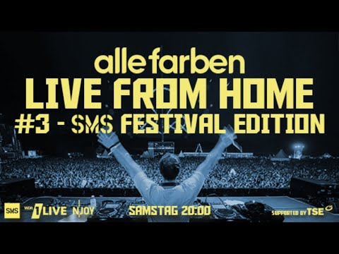 Alle Farben - Live From Home #3 SMS Festival Edition