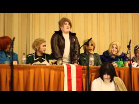 Katsucon 17 Hetalia World Conference Panel (Pt.1)