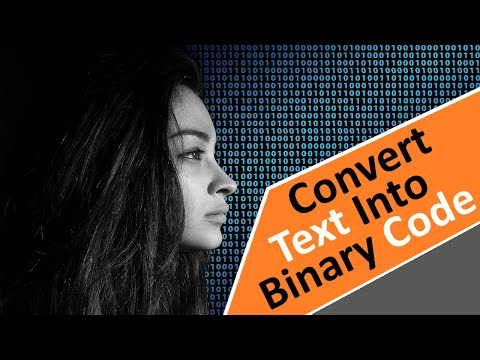Convert Text To Binary Code Using Mobile