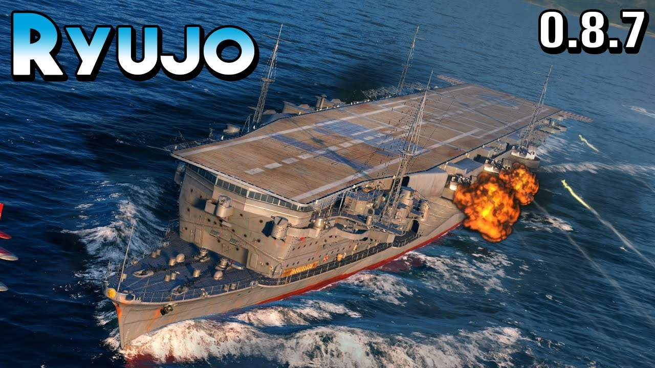 Ryujo: Merciless - World of Warships - YouTube