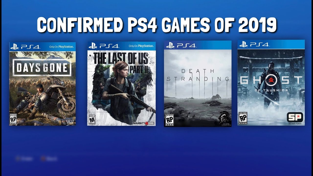 Ps4 Exclusive Games 2019 Confirmed Release Dates For