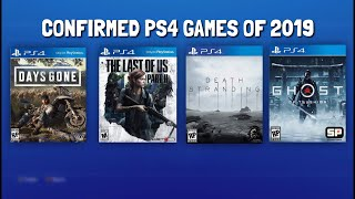 *PS4 EXCLUSIVE GAMES 2019* - Confirmed Release Dates for Next Year