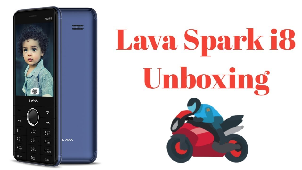 Lava Spark I8 Unboxing In Hindi Youtube