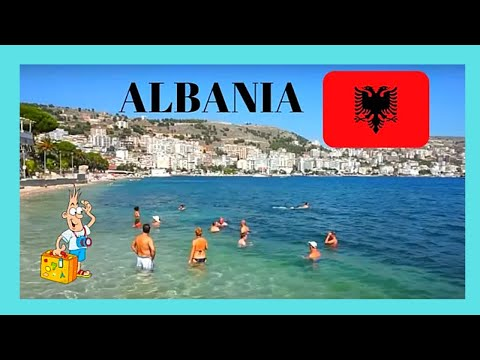 ALBANIA: The wonderful WATERFRONT OF SARANDA (SARANDË)