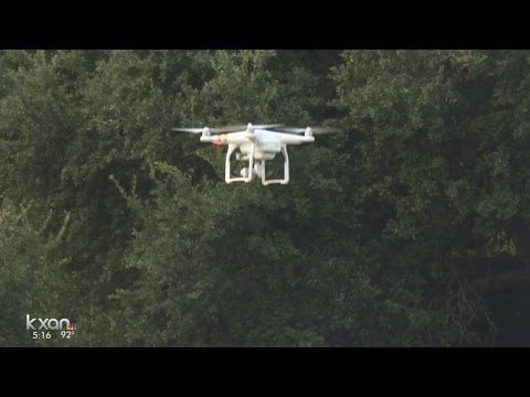 Austin Energy using drones to inspect transmission lines