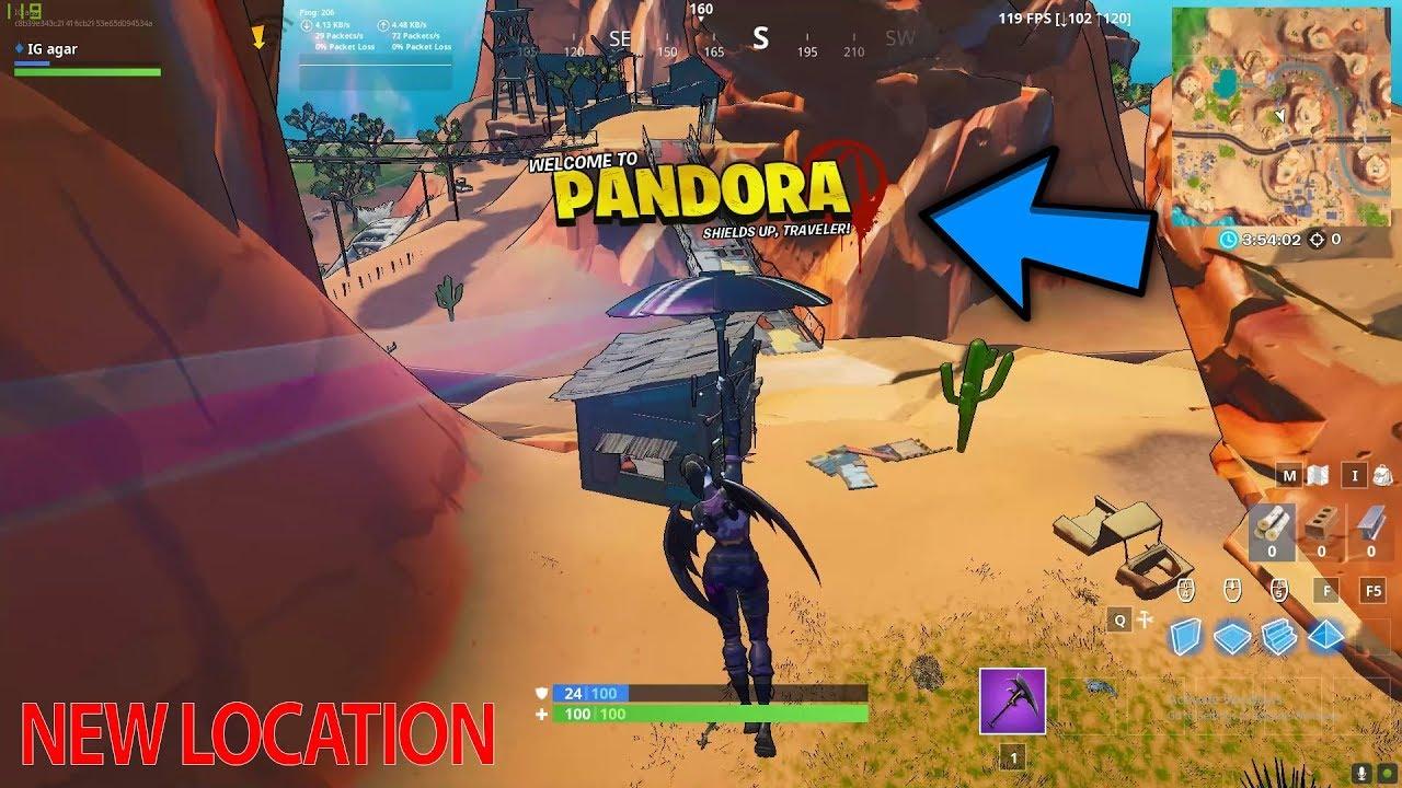 Fortnite X Mayhem New Rift Zone Pandora Season 10 Map Change