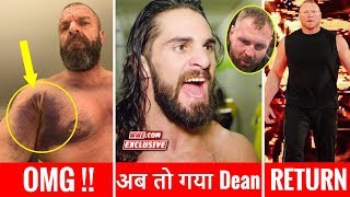 Dean Ambrose attaque Seth Rollins WWE RAW