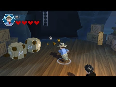 Lego Jurassic World (PS Vita/3DS/Mobile) San Diego Docks - Free Play