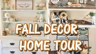 FALL DECOR HOME TOUR 2018 // FARMHOUSE INSPIRED // IN WITH JEN