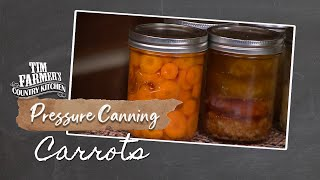 CANNING CARROTS | How-To Pressure Can Carrots