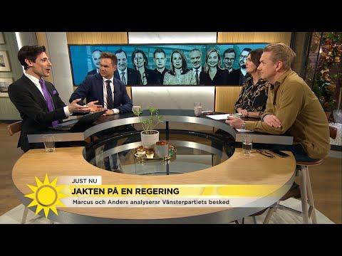 Marcus Oscarsson: 'Det är klart – Stefan Löfven kommer bli statsminister' - Nyhetsmorgon (TV4)