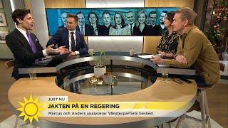 """Marcus Oscarsson: """"Det är klart – Stefan Löfven kommer bli statsminister"""" - Nyhetsmorgon (TV4)"""