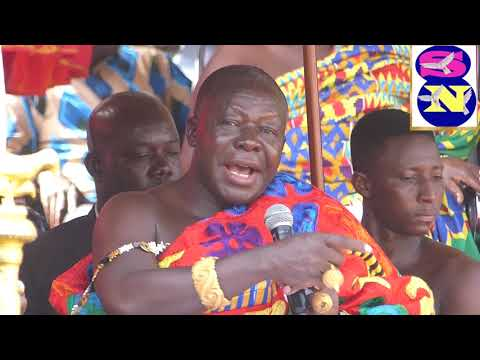 ASANTEHENE SHARE HIS JOY FOR THE  REOPNING OF  OBUASI GOLD MINES
